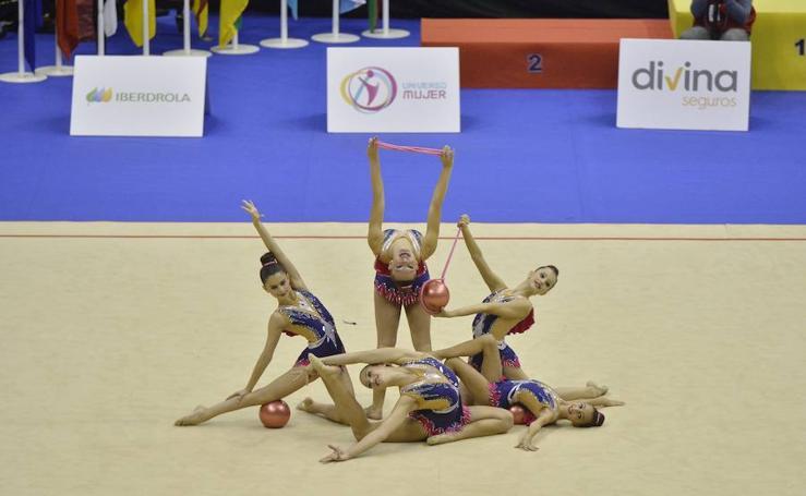 La Región se convierte este fin de semana en la capital nacional de la gimnasia rítmica