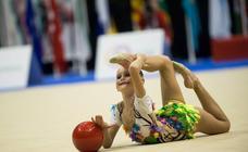 Fiesta de la gimnasia rítmica en Murcia