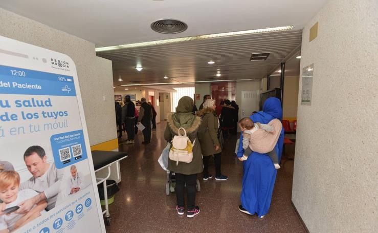 Dos médicos, un pediatra y dos enfermeros intentan rebajar las esperas del Centro de San Diego de Lorca
