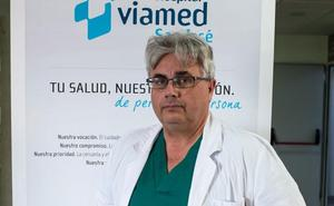 El doctor Vispo, pasión y talento con los problemas de cirugía ortopédica