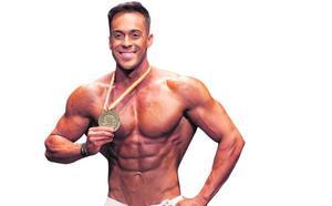 «He llegado a coger ocho kilos en tres días después de una competición»