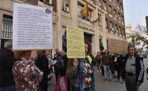 Protesta en Murcia y Cartagena por la sentencia sobre los impuestos de las hipotecas