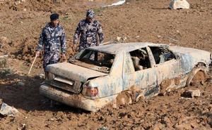 Al menos doce muertos por las inundaciones en Jordania