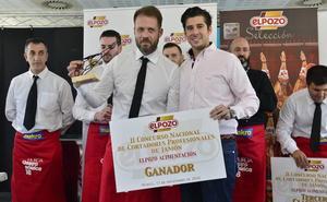 Aníbal Falcón gana el II Concurso de Cortadores Profesionales de Jamón