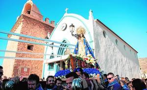 La Virgen del Milagro ya está en San Andrés