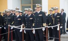 El nuevo Almirante de la Flota realiza la primera visita a la Base de Cartagena