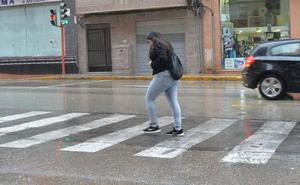 Alerta amarilla por lluvias para el miércoles en Valle del Guadalentín, Lorca y Águilas