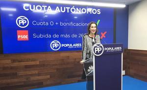 El PP denuncia que «70.000 autónomos en la Región no podrán pagar la subida de cuotas»
