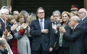 Artur Mas, condenado a pagar 4,9 millones por los gastos de la consulta del 9-N