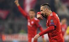 Ribéry abofeteó a un comentarista de televisión