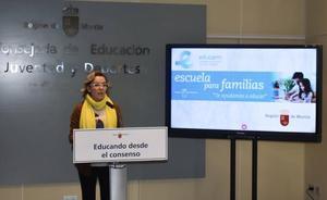 Educación media en veinte disputas de padres separados en trámites referentes a la escolarización