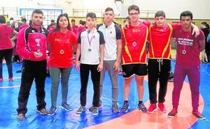 Los cadetes de San Javier suben al podio en Madrid