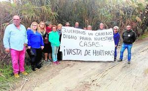 Los vecinos exigen el arreglo del camino rural de la Rambla