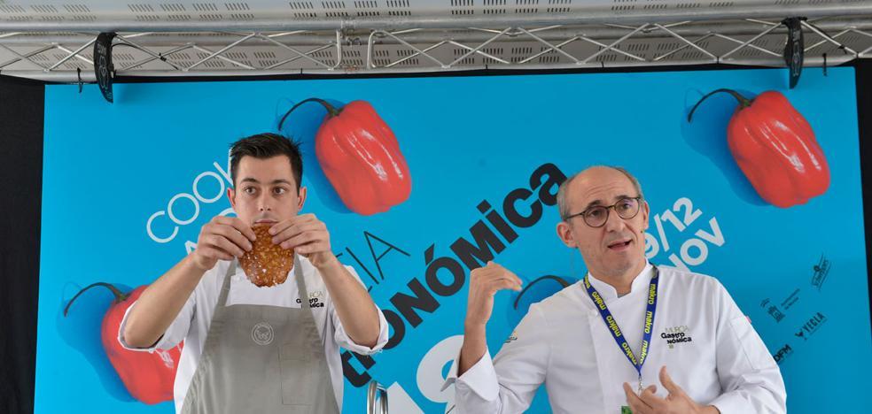 Paco Pérez: «La cocina, un viaje por el espacio y el tiempo»