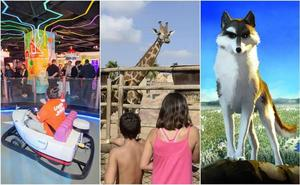 Parque temático, Terra Natura, cine o teatro para que disfruten los más pequeños este fin de semana