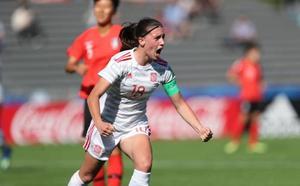 Debut con goleada de la España de Eva Navarro a Corea del Sur