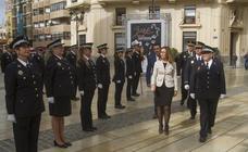Acto conmemorativo del patrón de la Policía Local, San Leandro
