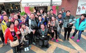Lorca se convierte en parada de los taiwaneses que visitan Granada