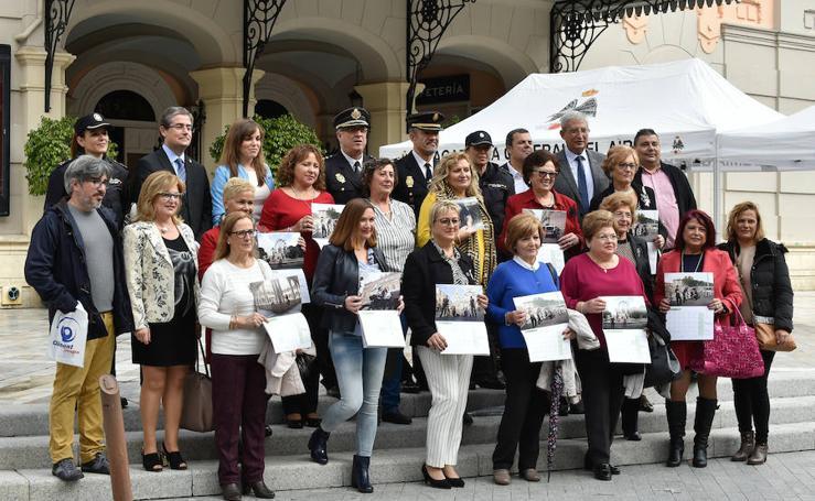 Presentación del calendario solidario 'Dando la cara por ti' de la AECC de Zarandona en el Teatro Romea