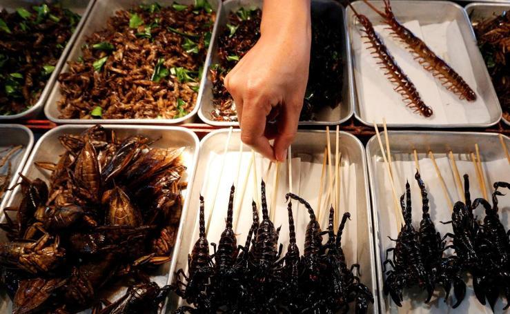 Comida callejera en Asia