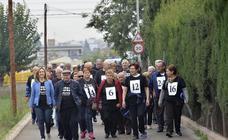 Marcha de los mayores contra el maltrato