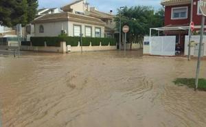 Los Alcázares activa el nivel 1 de emergencias por intensas lluvias
