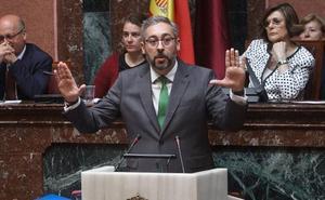 Martínez (PP), tras los incidentes en el acto de Vox: «A Diego Conesa le viene muy grande la Delegación del Gobierno»