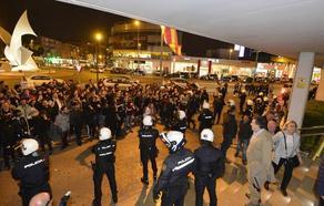 Conesa se congratula de que Abascal «felicite la acción de la Policía» tras las protestas de ayer