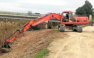 La CHS invierte 850.000 euros en mejorar el estado de ramblas y ríos