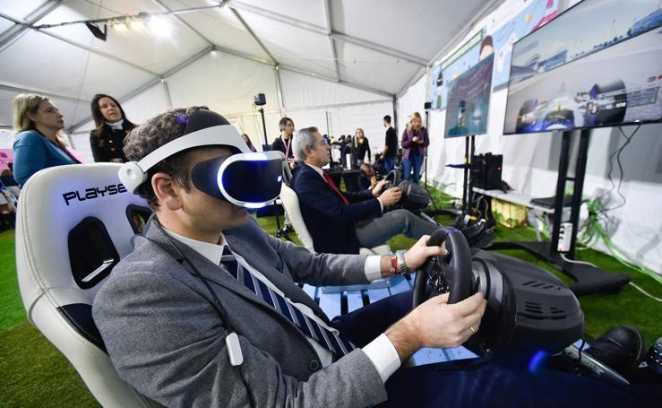 Drones y realidad virtual en Sicarm