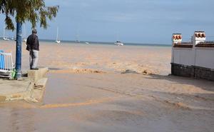 Medio Ambiente activa un protocolo para evaluar los daños en el Mar Menor por las lluvias