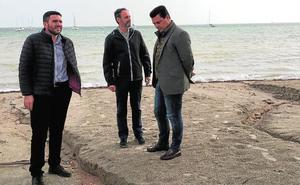 Activan un protocolo para evaluar los daños en el Mar Menor por las lluvias