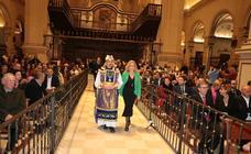La Colegiata de San Patricio acoge el «trabucazo» de salida de las fiestas de San Clemente