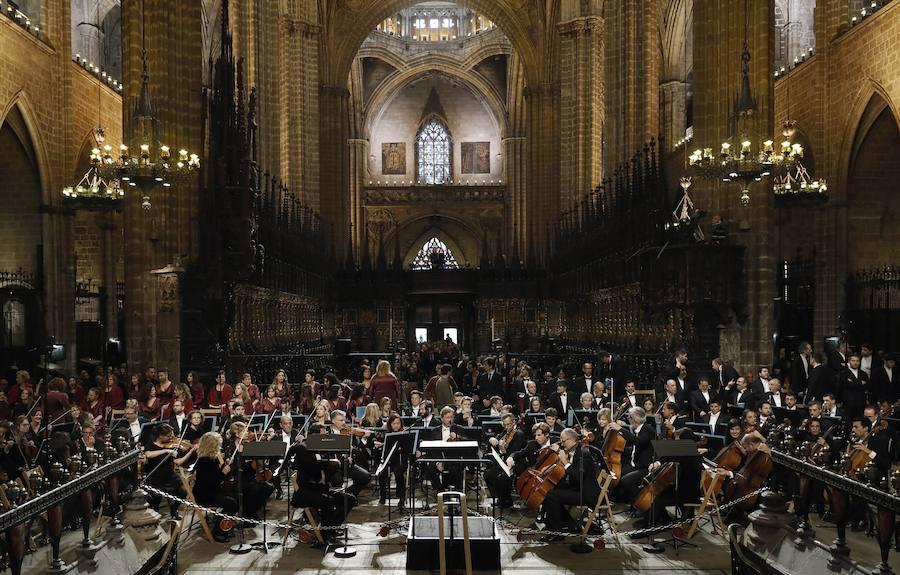 El Réquiem de Verdi inunda la Catedral de Barcelona por Montserrat Caballé