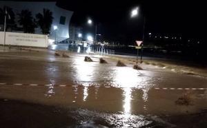 La lluvia vuelve a provocar incidencias en varias localidades de la Región de Murcia
