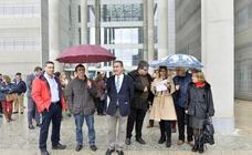 La 'huelga de togas' obliga a suspender 354 vistas en la Región