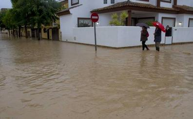 Campo de Cartagena, Mar Menor y el Río Mula se llevan la peor parte de la borrasca