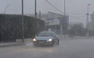 ¿Cuánto, dónde y hasta cuándo va a seguir lloviendo en la Región de Murcia?