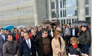 La huelga de jueces y fiscales obliga a aplazar más de 300 vistas en la Región