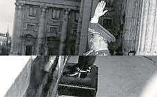 La foto robada del 'alzamiento'