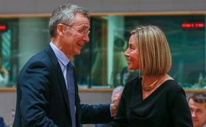 Stoltenberg cree que Europa debe invertir más en defensa en lugar de tener ejército propio