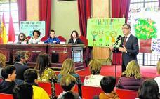 Los escolares toman el Pleno