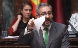 El PP acusa a Conesa y Pedro Sánchez de «humillar» a los murcianos