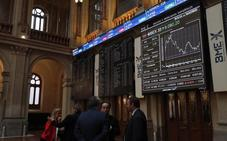 El Ibex-35 rebota un 1% con el apoyo de Wall Street y el crudo