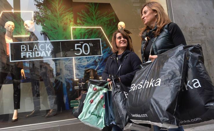 La Región de Murcia se va de compras en este 'Black Friday'