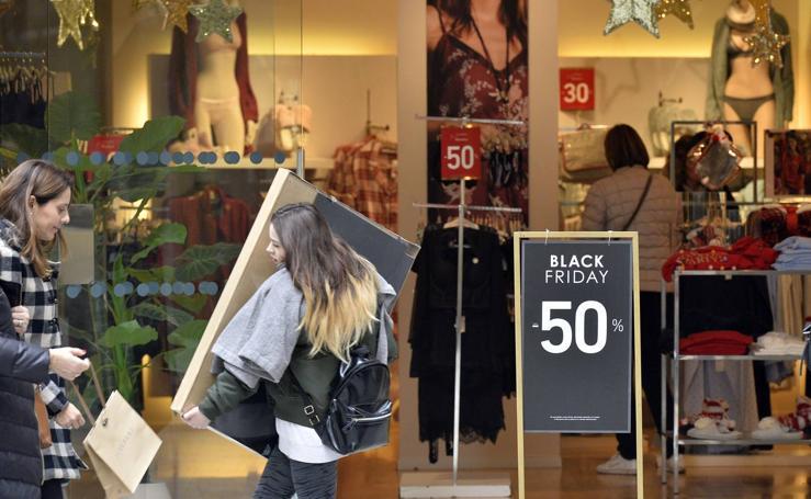 El comercio encara el 'Black Friday'
