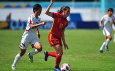 España, a semifinales al ganar a Corea del Norte en la tanda de penaltis con gol de Eva Navarro