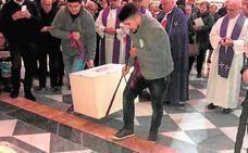 Entierran en la Basílica a dos curas asesinados durante la Guerra Civil