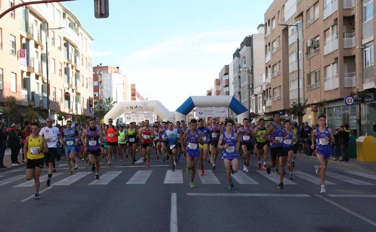Andrés Micó y Wafiya Benali se llevan la Media Maratón de Lorca