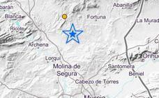 Un terremoto de 2,9 grados sacude Fortuna